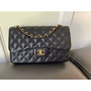 Chanel Classic Double Flap Jumbo Bag